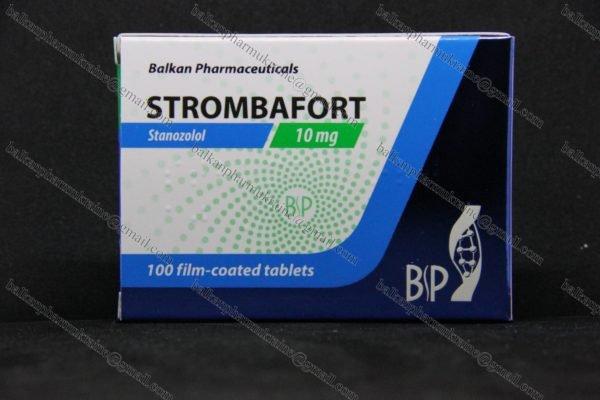 Станозолол Стромбафорт Strombafort Stanozolol Balkan