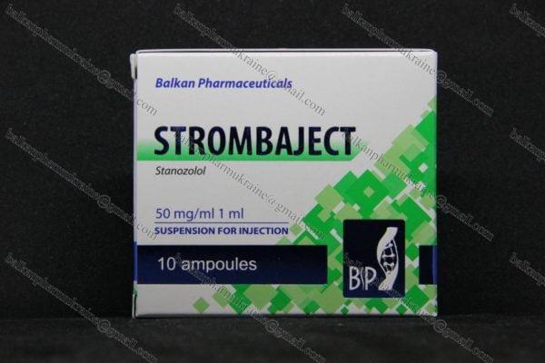Винстрол Станозолол Strombaject Stanozolol Balkan